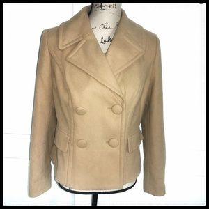 INC Pea Coat in Camel sz S